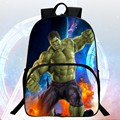 Fashion Hot Sale 16-inch Prints Avengers Children Backpack Hulk Boys School Bags Students Mochila Bag Coll Kids School Backpacks