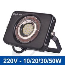Outdoor LED Flood Light 10W 20W 30W 50W LED Floodlight Spotlight IP67 Waterproof LED Reflector 220V 240V Garden Light Exterior