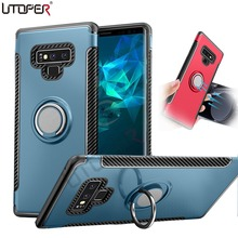 3D Ring Case For Samsung Galaxy Note 9 A6 J6 J4 J2 Pro 2018 Cover Magnetic S9 S8 Plus