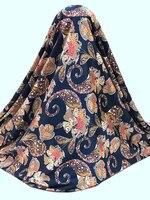 Güzel tasarım streç afrika dijital saten ipek kumaş baskı pürüzsüz desen leke malzeme için kumaş Elbise