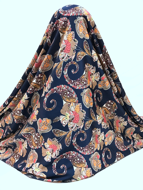 Schönes design strecken afrikanische digitale satin seide stoff ...