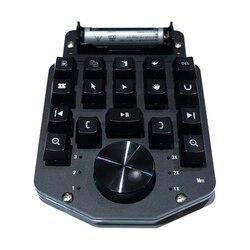 Draadloze Video Editing Clip Toetsenbord Macro Sneltoets Met Bluetooth Shuttle Wiel voor WIN Ae Pr edius fcpx PS vegas DaVinci