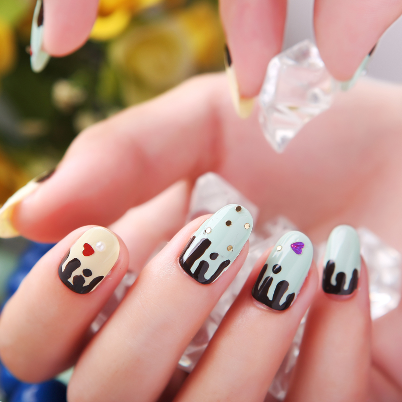 ФОТО Modern sweetheart eco-friendly nail polish oil bundle gentlewomen princess ice cream diy nail art set