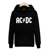 Rock Music AD DC Hooded Hoodies Men Luxury Mens Hoodies And Sweatshirts Hip Hop In Black