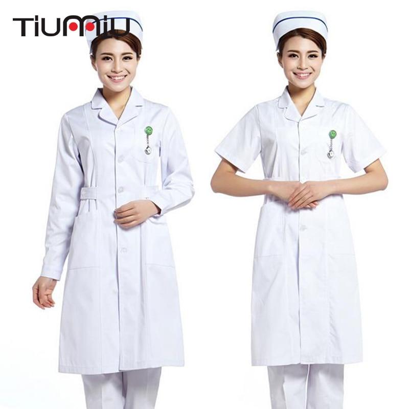 Doctor Enfermera Uniforme Hospital Médica Scrub Robes Workwear Ropa - Novedad