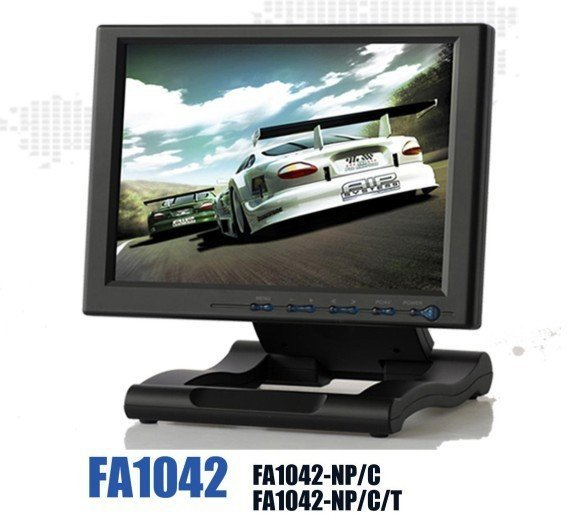 "10.4"" foldable touch screen VGA Monitor"