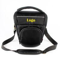 Free Shipping Fashion Triangle Digital Camera Bag For Nikon D90 D7000 D5100 D80 D70 D5300 D3200