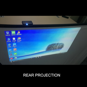 Image 4 - Touyinger 100 Inch 16:9 Outdoor Simple Portable Screen Travel Front & Rear projection screen Night Super thin projection screen