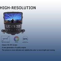עבור שברולט אנדרואיד 9.0 רכב רדיו 2 דין GPS Navi עבור שברולט Cruze 2008 2009 2010 2011 2012 PX6 DSP HDMI 4Gb + 64GB 2.5D מסך IPS, WIFI BT (4)