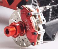 Area RC Aluminum Front Mechanical Brake Kit V2 for KM HPI baja 5B 5T 5SC
