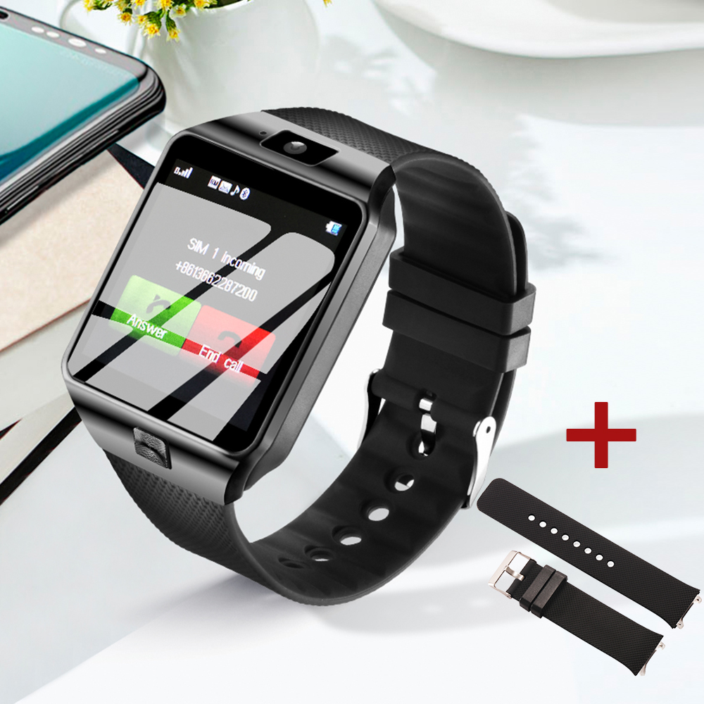 DZ09 Smart Watch Phone Passometer Support SIM TF Card Fashion Smart Watch Men Women Bluetooth Call Message for Android Phone