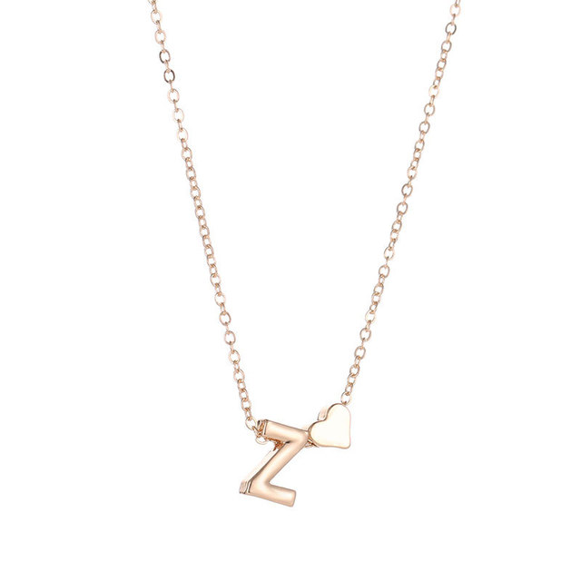 Letter Name Ladies necklace for women 4