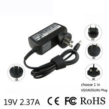 19V 2.37A 5.5*2.5mm laptop computer AC energy adapter charger for Toshiba liquid crystal display television energy adapter T230 T235 T AC Plug Laptop computer Battery Charger