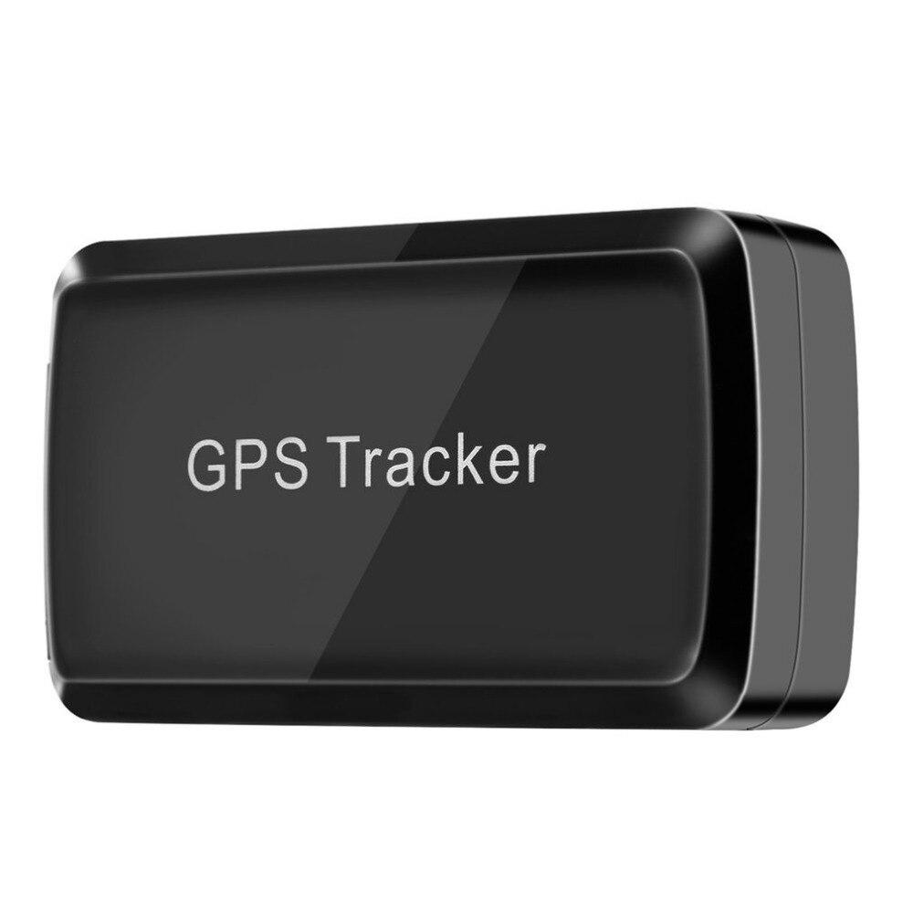 Новый Небольшой gps трекер gps/LBS/GSM/GPRS длительным временем ожидания встроенный, 4000mA Батарея регистрации данных geo-загородка сигнализации