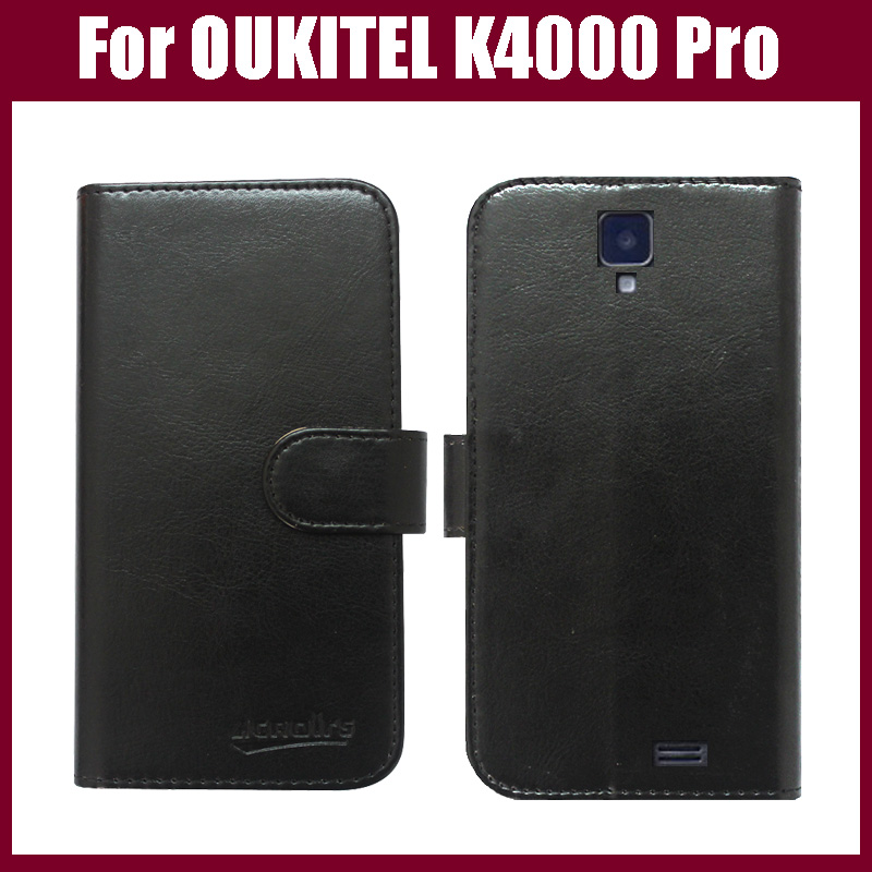 Hot Sale! <font><b>OUKITEL</b></font> <font><b>K4000</b></font> Pro Case New Arrival 6 Colors High Quality Flip Leather Protective Cover For <font><b>OUKITEL</b></font> <font><b>K4000</b></font> Pro Case image
