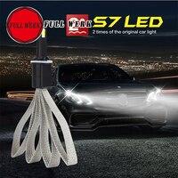 FULL WERK 1pair Car Styling Autocare 36W 4000LM COB LED 9V 30V H4 Plug 6000K Car
