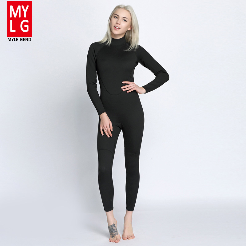 Women's Spearfishing Wetsuit 2MM Neoprene SCR Superelastic Diving Suit Waterproof Warm Professional Surfing Wetsuits Full Suit shanghai chun shu chunz chun leveled kp1000a 1600v convex plate scr thyristors package mail