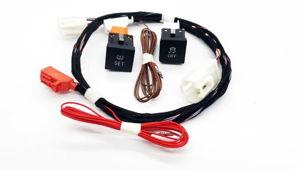 Gzceshenzai ESP OFF ASR и система контроля давления в шинах шин Давление монитор/Предупреждение Системы переключатель/кнопка для VW JETTA MK6 VI 56D 927 121/16D/1KD 927 117