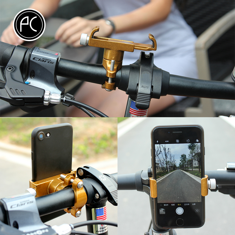 PCycling Adjustable Mobile Phone Holder With Non-Slip Mat For Smartphone 2