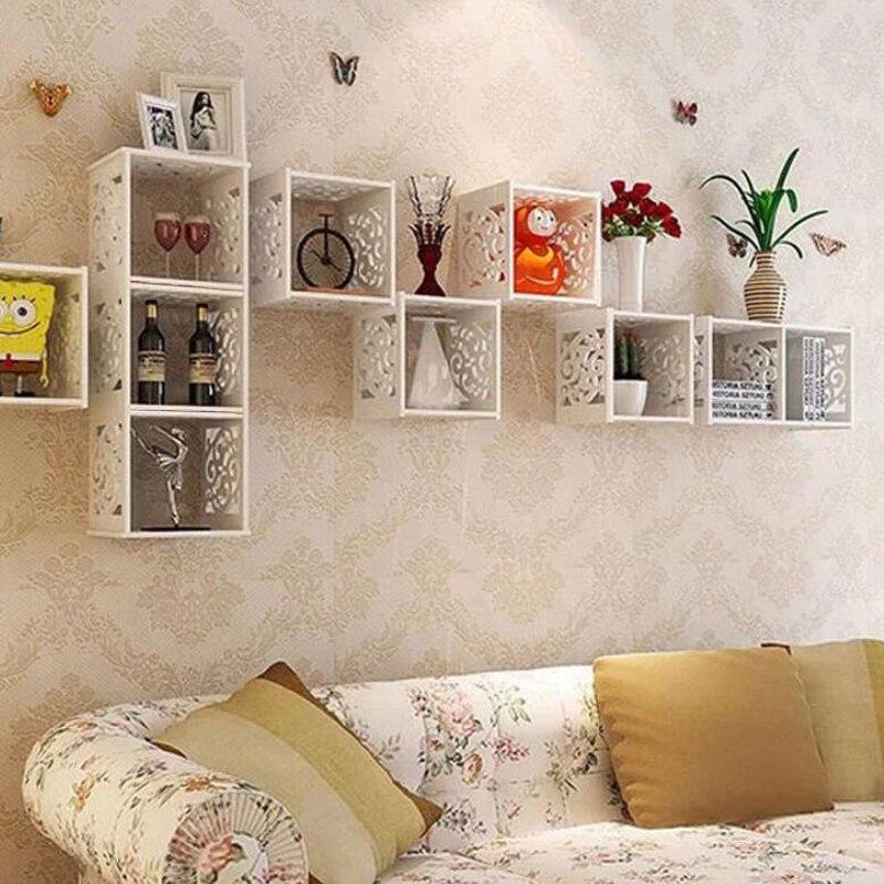 Декоративные стеллажи