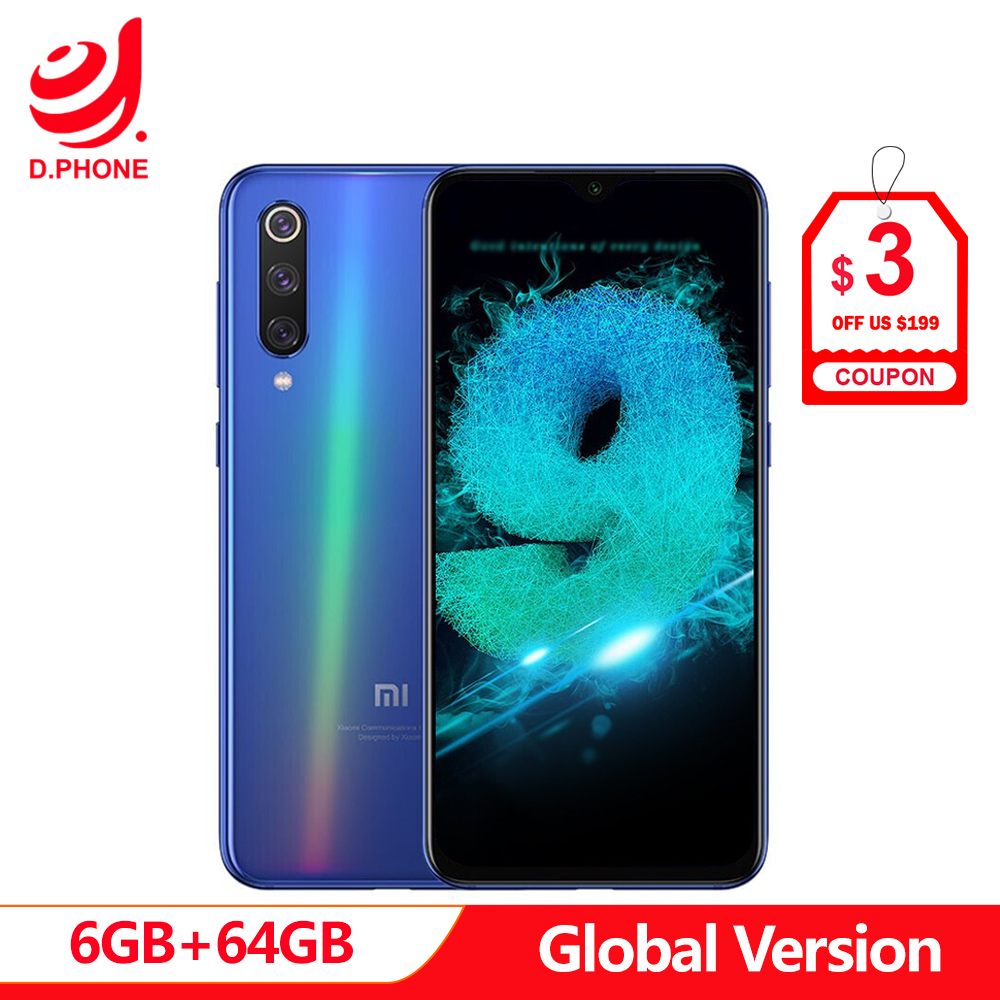 Global Versão Original Xiao mi mi 9 SE Snapdragon 712 Núcleo octa 6 GB 64 GB 5.97