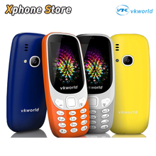 Original VKworld Z3310 Elder Phone 2.4 inch 3D Screen 1450mAh Battery Class K Amplifier Dual SIM FM Torch Bluetooth Smartphone