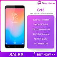 HOMTOM C13 8:9 FHD Mobile Phone Android GO MT6580M Quad Core 1GB RAM 8GB ROM 2750mAh Smartphone