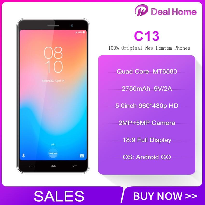 HOMTOM C13 8:9 FHD Mobile Phone Android GO MT6580M Quad Core 1GB RAM 8GB ROM 2750mAh SmartphoneHOMTOM C13 8:9 FHD Mobile Phone Android GO MT6580M Quad Core 1GB RAM 8GB ROM 2750mAh Smartphone