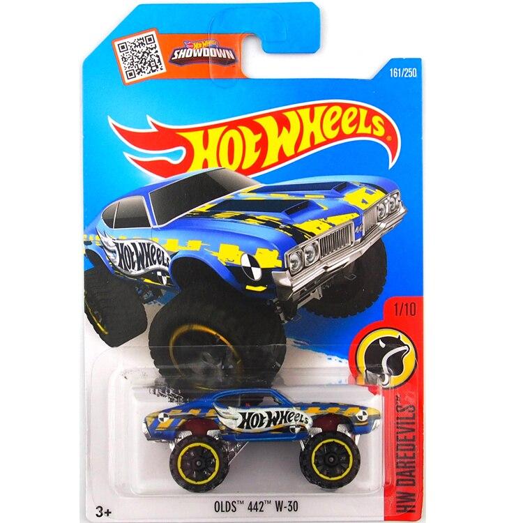 HotWheels Die-casts HW DAREDEVILS: OLDS 442 W-30/Toy/Mannequin Automobile/2016#161/250