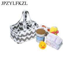 Hot Foldable Baby Diaper Caddy Organiser Gift Kid Toys Portable Storage Bag box for Car Travel Changing Table Basket