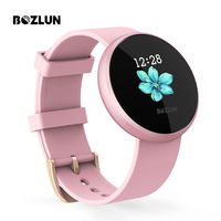 Bozlun Fashion Women Smart Digital Watch Female Period Reminder HeartRate Waterproof Watches Sport Wristwatch B36
