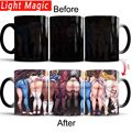 Сексуальная кружка для приклада  Аниме игра  кофе  чай  Термочувствительная кружка  меняющая цвет  волшебная кружка  лучший подарок для ваши...