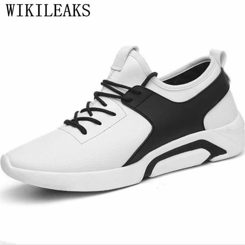 Zapatos casuales de lujo para hombre, zapatos de cuero negro, zapatos de diseñador para hombre, zapatillas de alta calidad para hombre, chaussure homme cuir de lujo