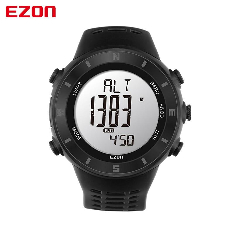 2016 Hot EZON Couple font b Watches b font Professional Outdoor Climbing Exercise Compass Barometer Altimeter