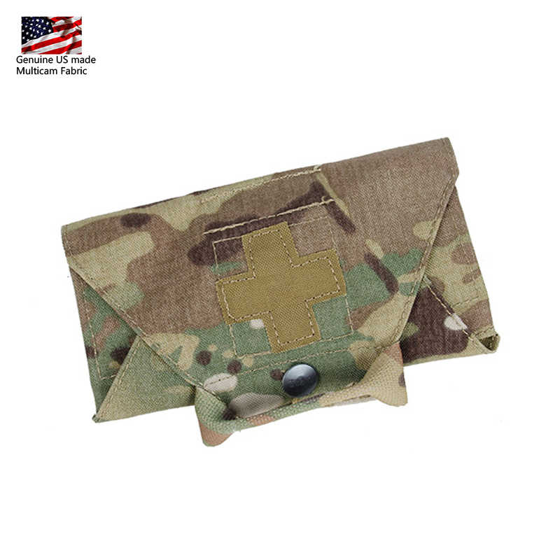 TMC Micro Med kit Medical Pouch Tactical Molle Pouch Hunting First Aid Kits Camo