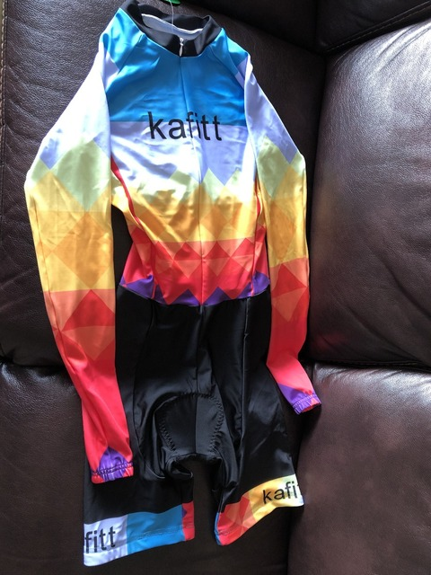 2019 Pro Equipe de Ciclismo de manga comprida Jersey Skinsuit Triathlon Terno das Mulheres Jumpsuit conjunto Maillot ciclismo Ropa ciclismo gel 4