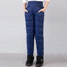 Clearance Winter Thicken Warm Slim Clothes new style Boys Long Pants Children Girls Down Trousers For Baby Kids