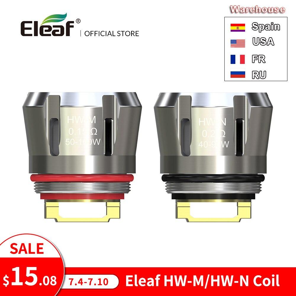 [RU/US/FR] Original Eleaf HW Coil 0.15ohm HW-M/0.2ohm HW-N Coil For Ello Duro/Ello Vate/iStick Pico S/iJust 3 Coil E Cigarette(China)