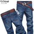Hot sale! 2016 New arrived Classic top designer famous brand straight men jeans fashion Europe and America style denim jeans man