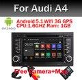 Заводская Цена ANDROID 5.1 АВТОМОБИЛЬНЫЙ РАДИОПРИЕМНИК для Audi A4 2002-2008 год с Wi-Fi 3 Г GPS Bluetooth Радио RDS USB SD Свободная камера + Карта