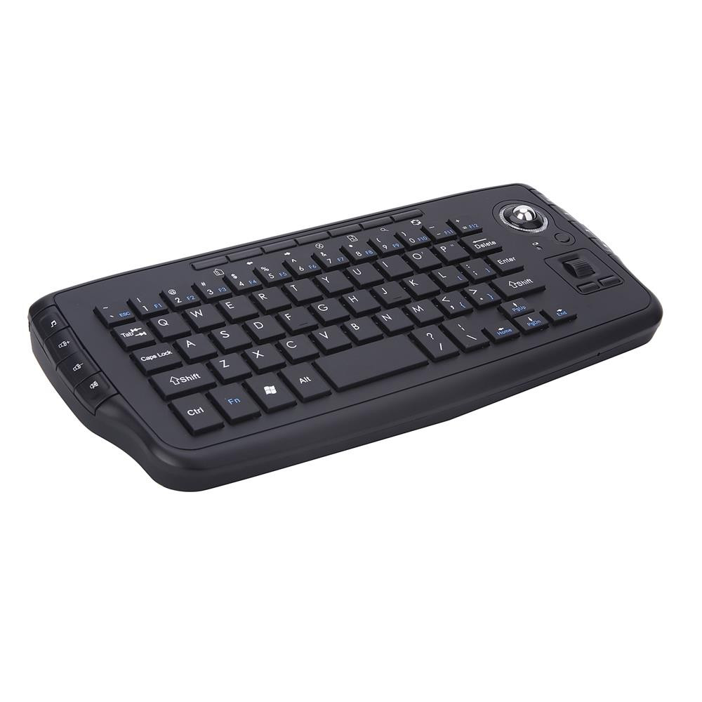 voberry e30 2 4g wireless keyboard 2 4g trackball keyboard portable multi function tv box. Black Bedroom Furniture Sets. Home Design Ideas