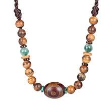 Original design handmade eye accessories wild Tibetan jewelry necklace clavicle chain neck female
