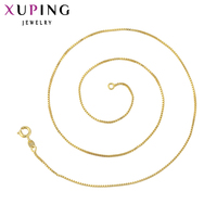 High Quality14k Rose Gold Color Plated Necklace Xuping Fashion Necklace Popular Necklace Jewelry Promotion 42633