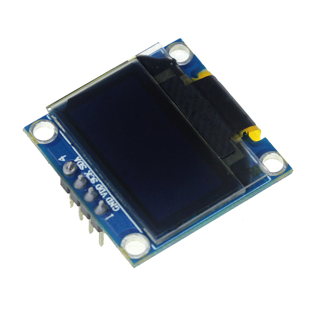 Blue 0.96 Inch 128X64 OLED LCD LED Display Module IIC I2C