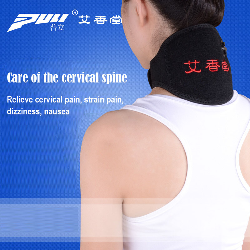 Neck Brace Electrical Heating Electrothermal Usb Moxibustion Therapy Cervical Spine Neck Massager 2017 household electric neck support device cervical physical therapy heated vibration cervical spine heating health care