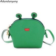 a8340154aa Children's Messenger Bag Cartoon Cute Baby Frog One Shoulder Crossbody Bag  Girl Child Coin Purse(