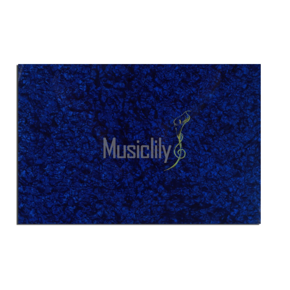 Pearl Blue 4Ply 11.5x17 inch Guitar Bass Blank Plate Pickguard Custom Sheet Material крокус blue pearl geolia