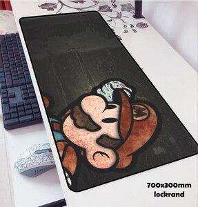 Image 2 - Mario alfombrillas de ratón locrkand para ratón, alfombrilla para ratón de ordenador portátil, 70x30cm, para gaming, para teclado, portátil