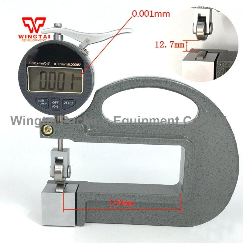 0-12.7 мм Цифровой Толщиномер С Роликом BC03E