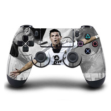 PS4 Controller Skin Classic Cristiano Ronaldo HD Sticker For Sony PlayStation4 Wireless Controller Skin PS4 Accessory